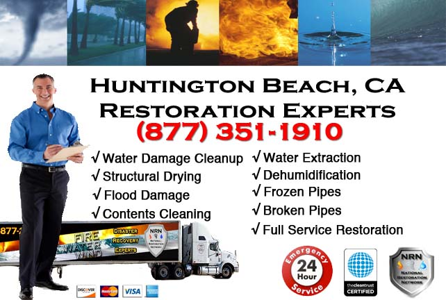 Huntington Beach Flooded Basement Cleanup