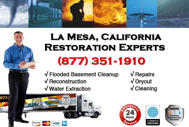 La Mesa Flooded Basement Cleanup