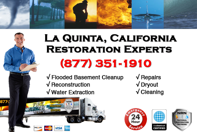 La Quinta Flooded Basement Cleanup