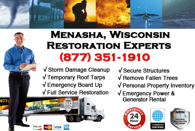 Menasha Storm Damage Cleanup
