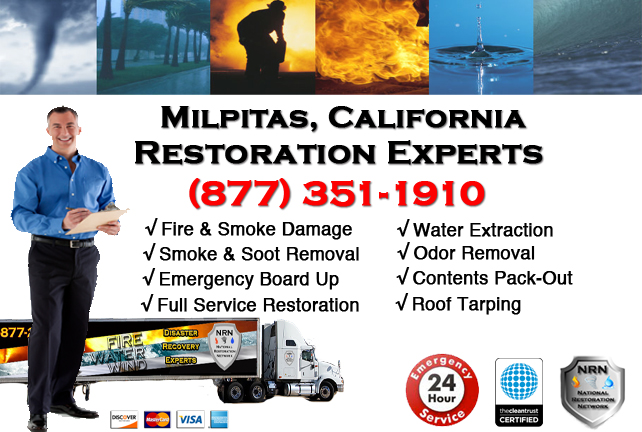 Milpitas Fire Damage Restoration Contractor