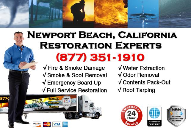 Newport Beach Fire Damage Restoration Contractor
