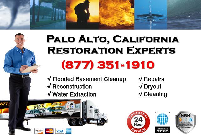 Palo Alto Flooded Basement Cleanup