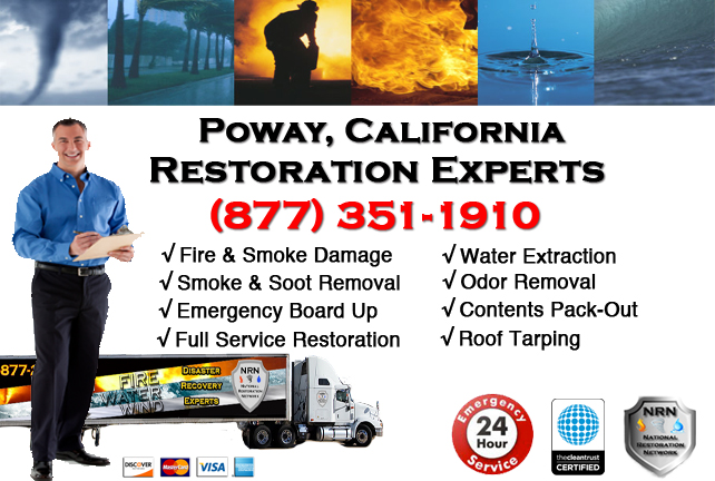 Poway Fire Damage Restoration Contractor