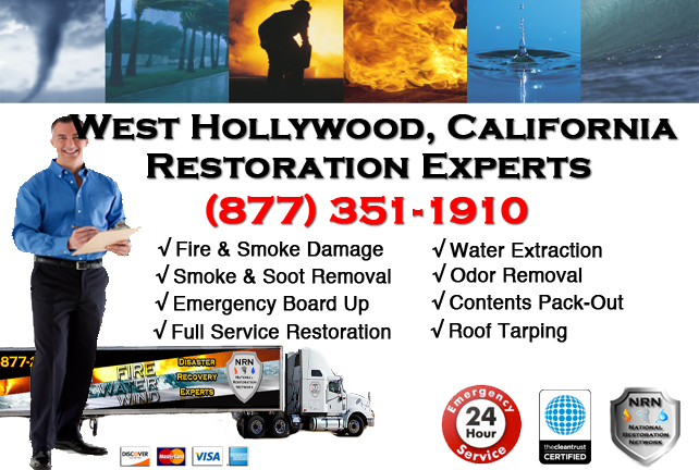 West hollywood Fire Damage Restoration Contractor