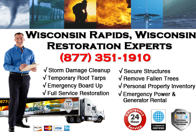 Wisconsin Rapids Storm Damage Cleanup