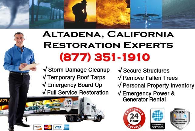 Altadena storm damage repairs