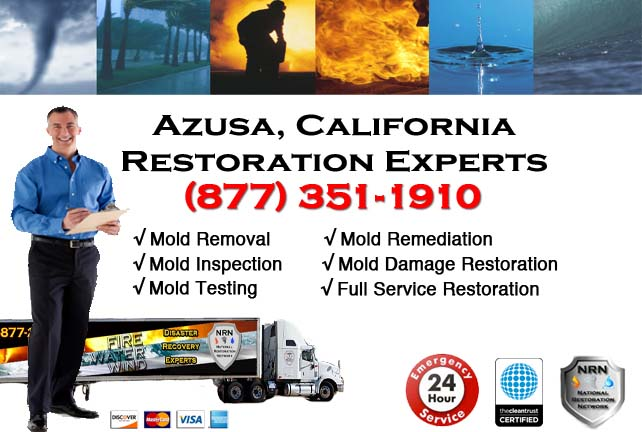 Azusa storm damage repairs