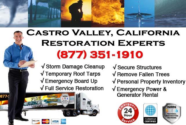 Castro Valley storm damage repairs