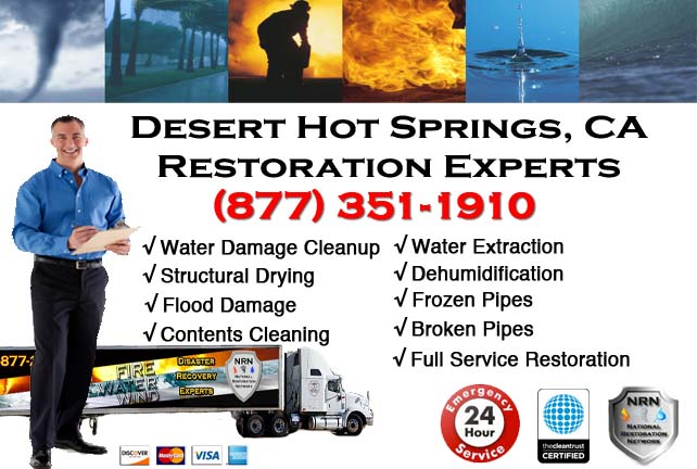 Desert Hot Springs Water Damage Cleanup