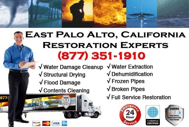 East Palo Alto Water Damage Cleanup