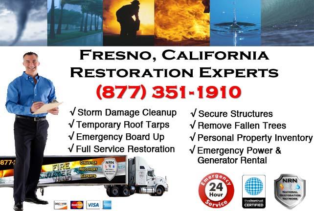 Fresno storm damage repairs
