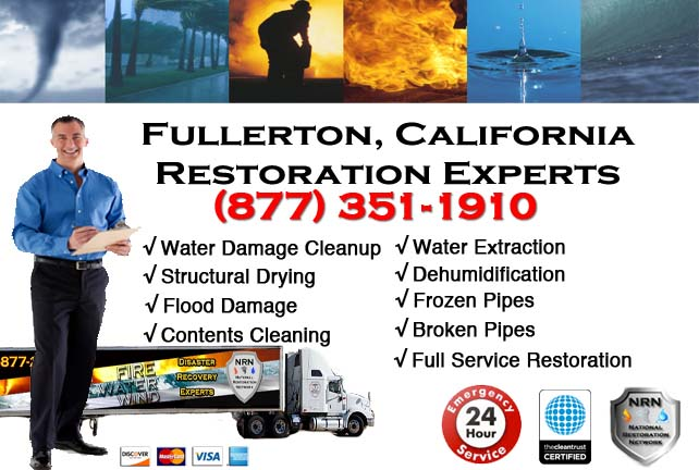 Fullerton CA Flooded Basement Cleanup