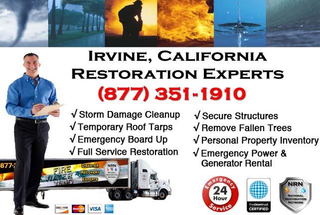 Irvine storm damage repairs