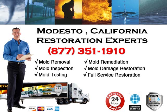 Modesto water damage restoration