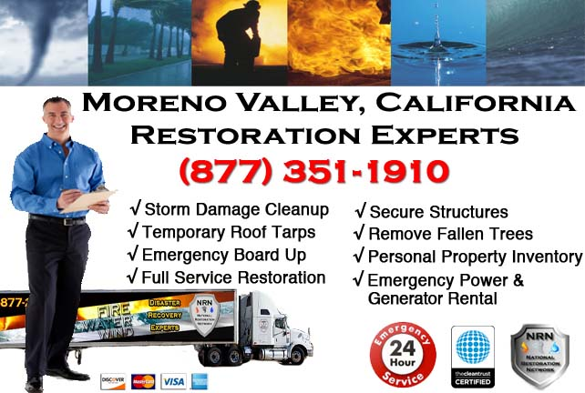 Moreno Valley storm damage repairs
