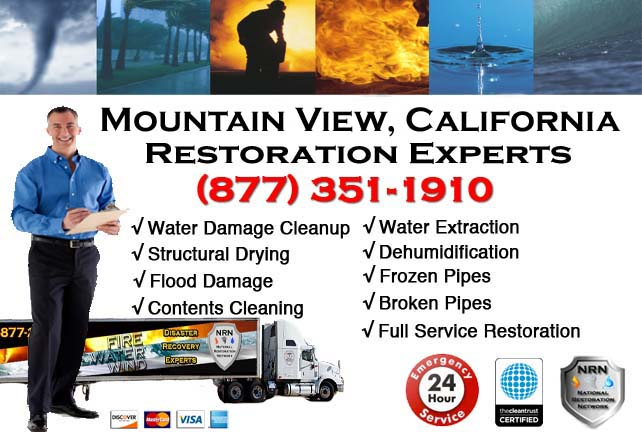 mountain view ca water damage cleanup