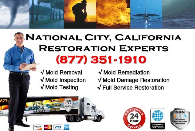 National City storm damage repairs