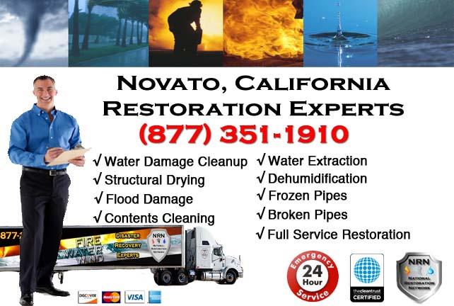 Novato water damage restoration