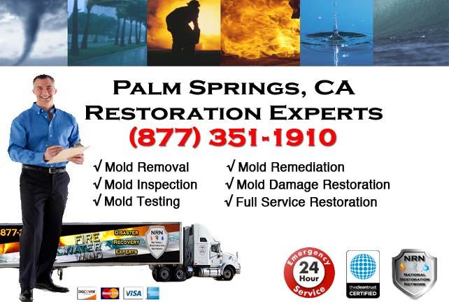 Palm Springs storm damage repairs