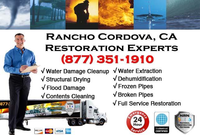 Rancho Cordova water damage restoration