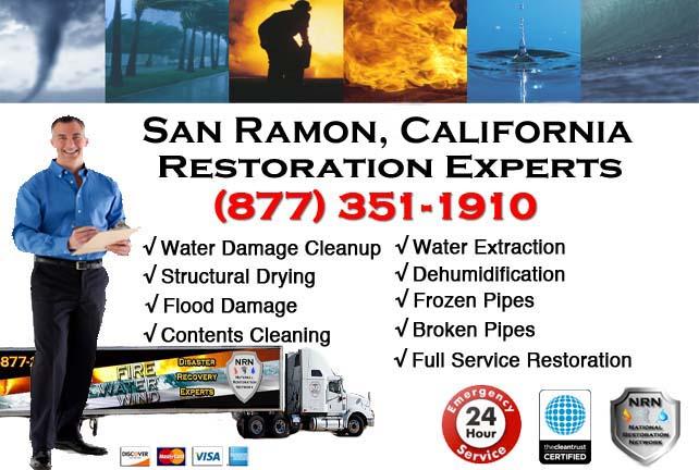 san ramon ca water damage cleanup