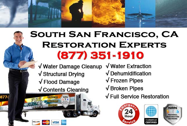 South San Francisco water damage restoration