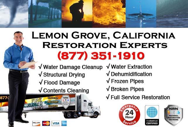 lemon grove ca water damage restoration