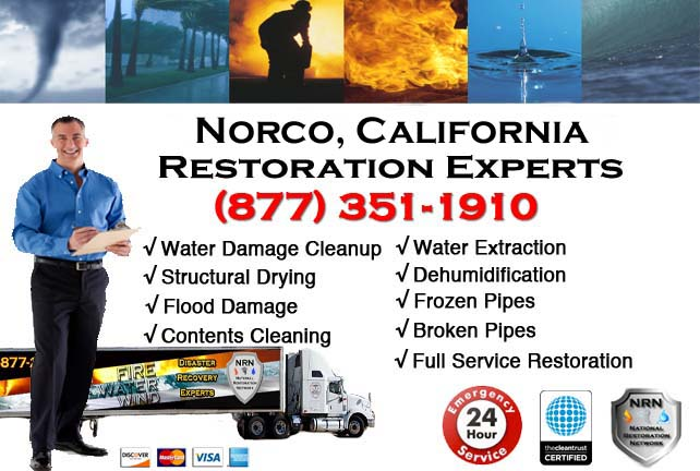 norco california water damage restoration