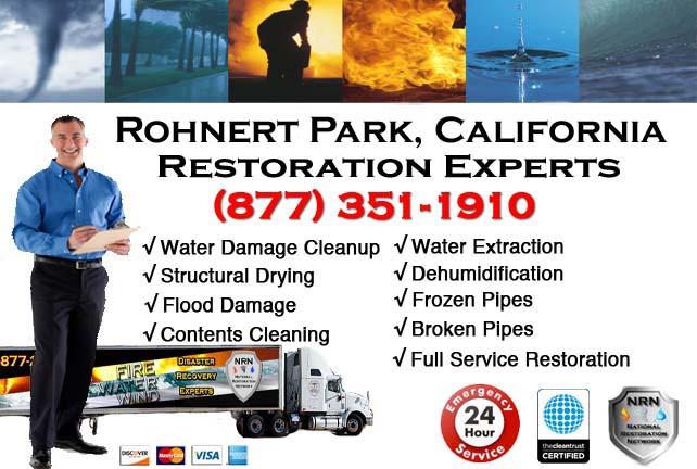 Rohnert Park Ca water damage restoration