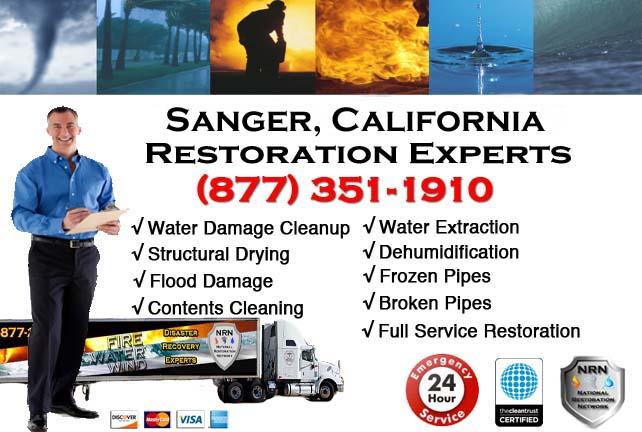 sanger ca water damage restoration