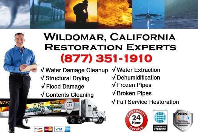 wildomar ca water damage restoration
