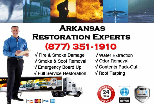 Arkansas Fire Damage Restoration Contractor