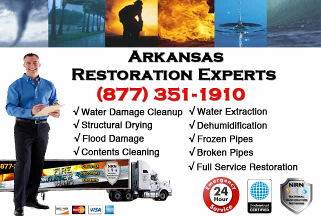 Arkansas Water Damage Restoration