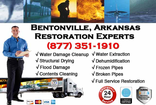 Bentonville Water Damage Restoration