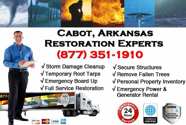 Cabot Storm Damage Cleanup