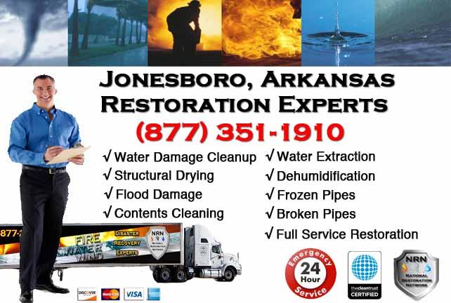 Jonesboro Water Damage Restoration