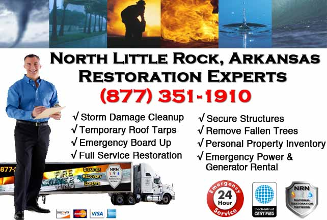 North Little Rock Storm Damage Cleanup