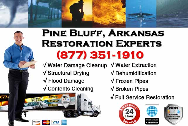 Pine Bluff Water Damage Restoration