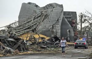 storm rubble